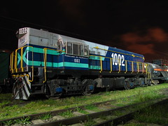 Fepasa, GM G8 1002, Arenal. (DeutzHumslet) Tags: chile yards station gm locomotive estacin arenal g8 talcahuano fepasa