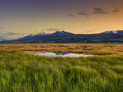 Evening in the Field (aevarg) Tags: sunset mountain snow grass landscape iceland gras sland akureyri eyjafjrur vatn sl photomatix digitalblending 14mmf28d slsetur var nx2 abigfave norurland anawesomeshot nikond700 varg 3exphdrdri aevarg vargumundsson afnikkor14mmf28 manfrotto055xprobprotripod488rc2ballhead