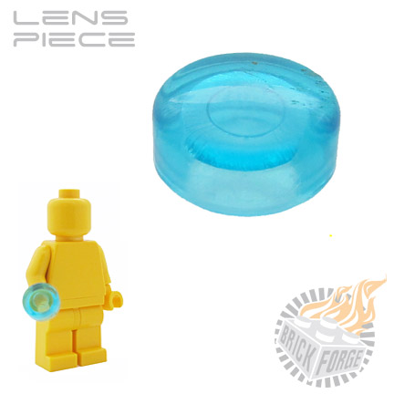 Lens Piece - Trans Light Blue