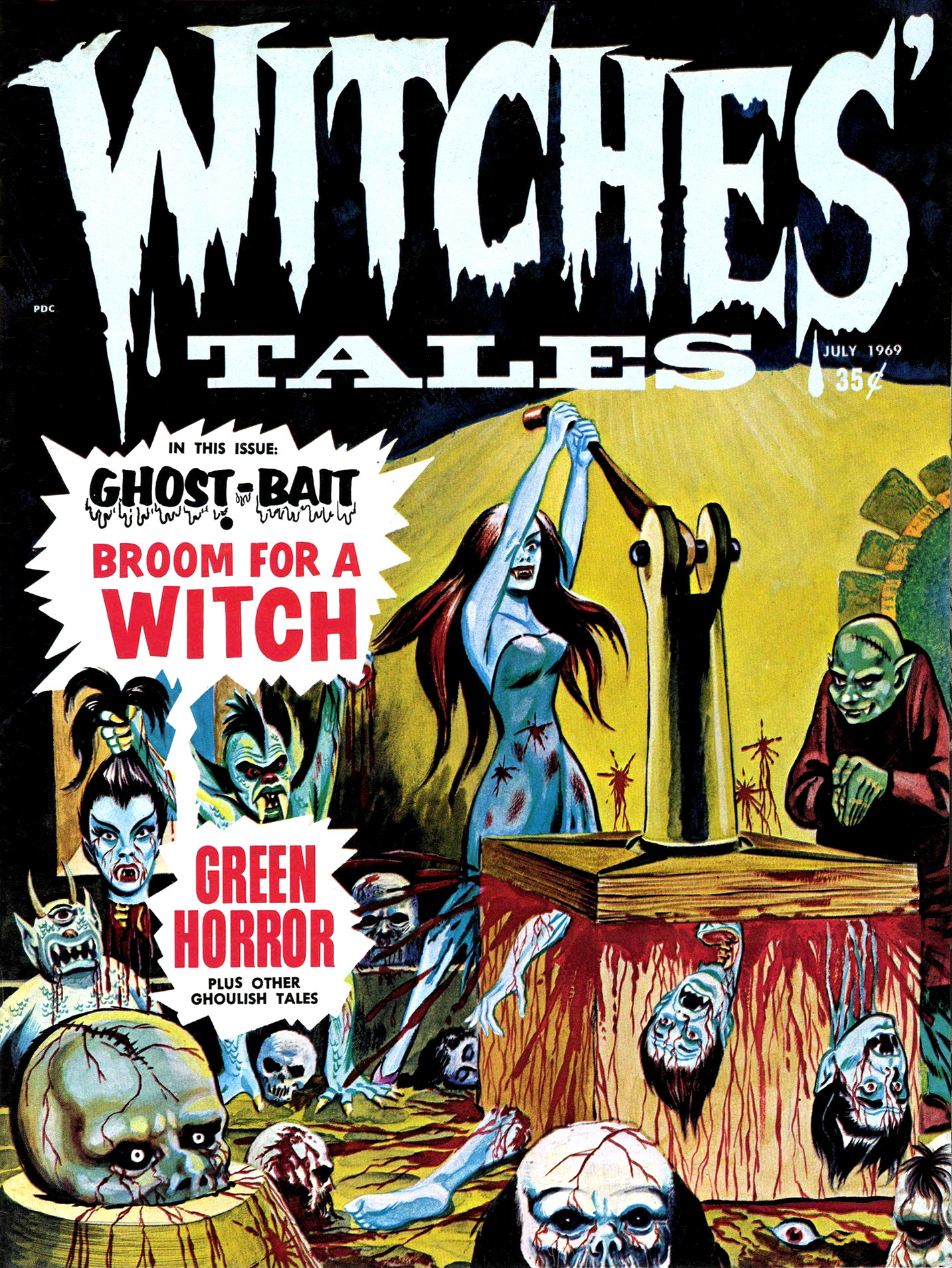 Witches' Tales Vol. 1 #7 (Eerie Publications 1969)