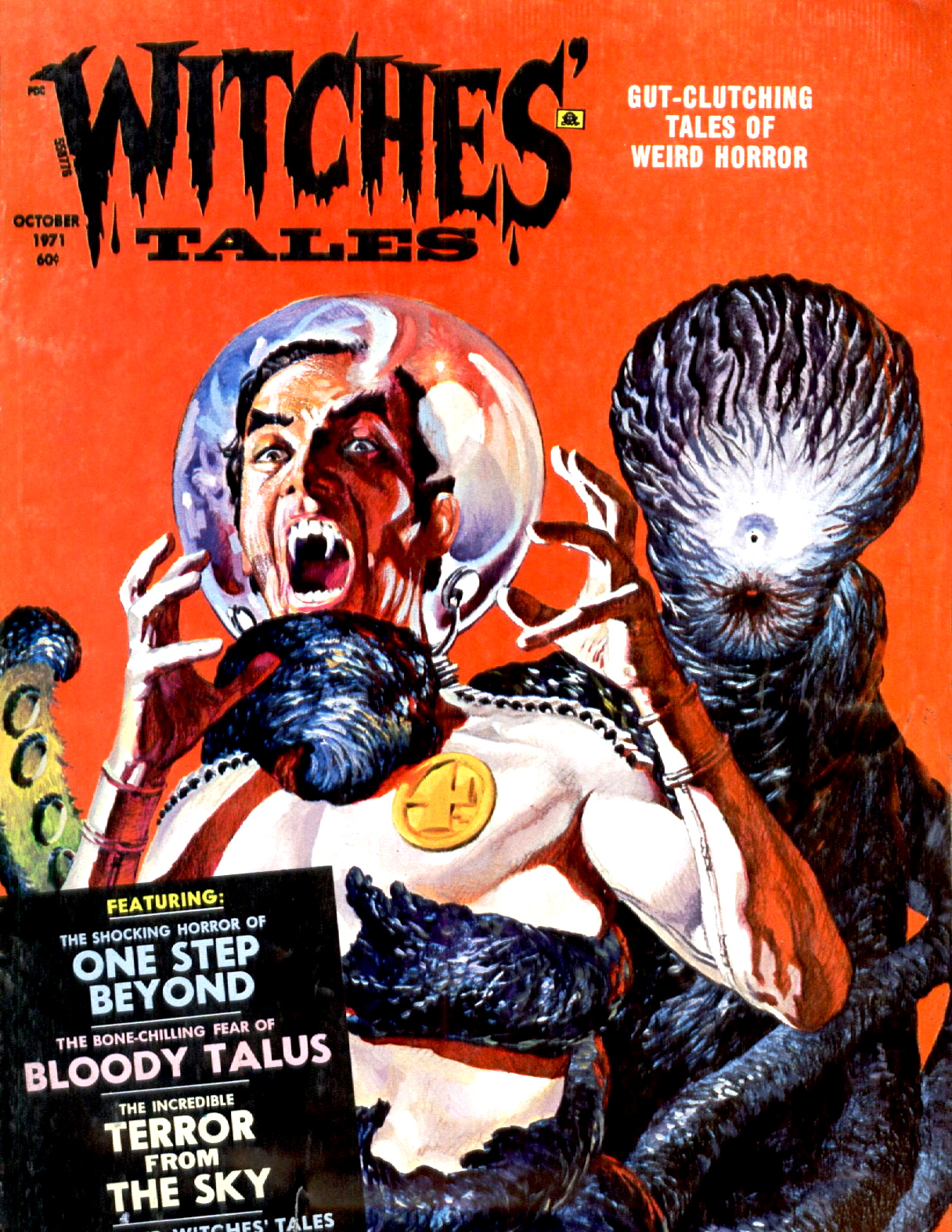 Witches' Tales Vol. 3 #5  (Eerie Publications 1971)