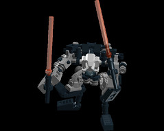 moko inspired exo force robot