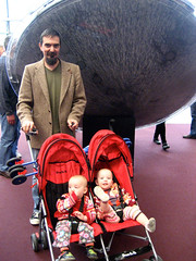 Dan and the twins with the Gemini capsule