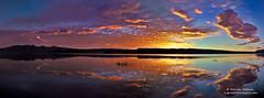 A Sunrise on Lake Crowley (Darvin Atkeson) Tags: morning light sunset cloud mountain lake color reflection nature sunrise river landscape mono desert nevada sierra formation mammoth yosemite wilderness eastern range lenticular owens 395 crowley darvin atkeson darv liquidmoonlightcom