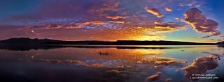 A Sunrise on Lake Crowley