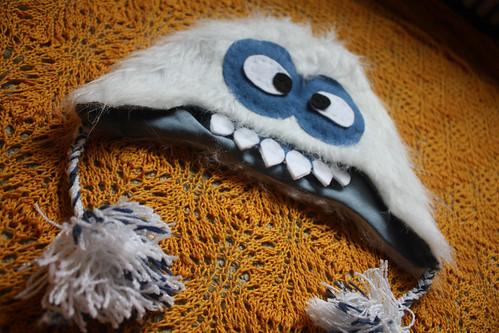 Faux Fur Yeti Hat