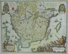 göteborg denmark bure skåne sweden map antique gothenburg småland smaland 1963 1635 skane gothia blaeu willemblaeu andersbure