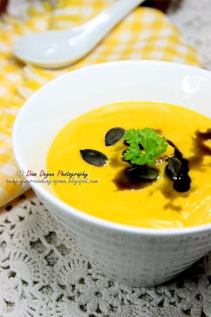 pumpkin cream soup austrian style