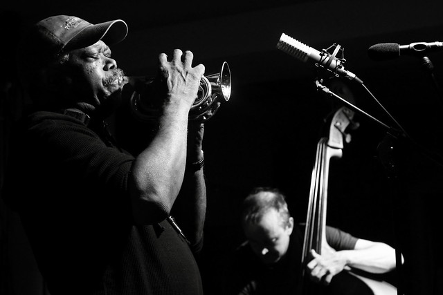 Joe McPhee and John Edwards, by Scott McMillan
