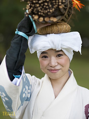 Jidai Matsuri, Festival of Ages, in Kyoto (Travel 67) Tags: people festival japan female asian japanese asia places honshu kyotoprefecture womanladyadult jidaimatsurifestivalofageskyoto