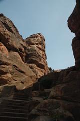up and up (Shashi Bhooshan) Tags: karnataka badami cavetemples