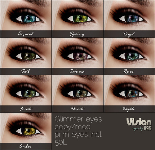 Vision by A:S:S - glimmer eyes by Photos Nikolaidis