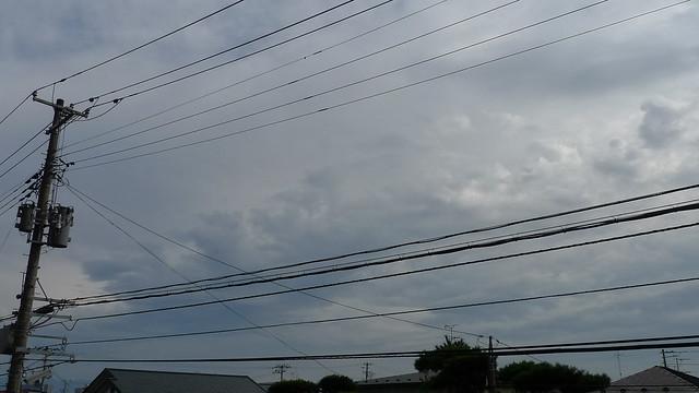 2011年10月31日の空模様
