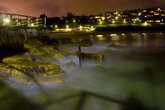 Bronte By Night (edwinemmerick) Tags: longexposure 20d beach water canon eos coast rocks sydney shore nsw slowshutter edwin bronte emmerick edwinemmerick