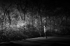 Don't Look Back (tlitto05) Tags: lighting light bw digital long exposure darkness eerie creepy panasonic mysterious infrared gh2 tlitto05