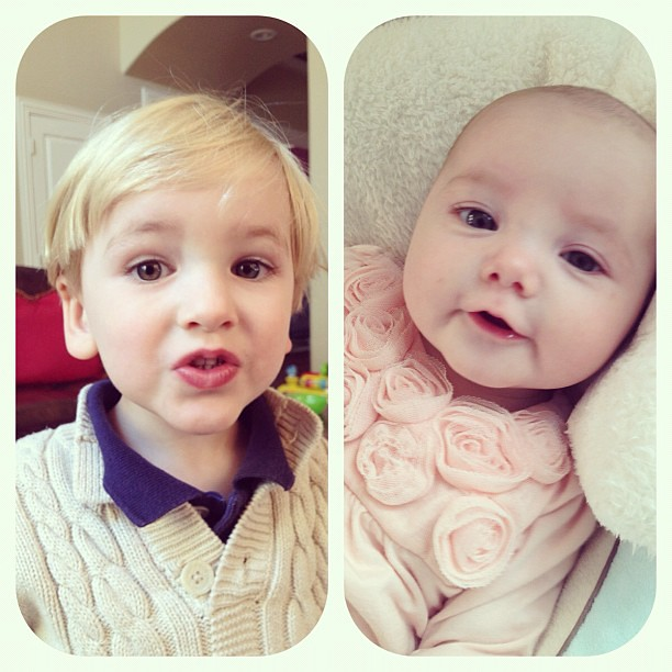 My kids make cute faces. ;)