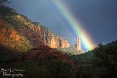 _DSC9035_ (PhotographyBySaija) Tags: arizona mountains nature landscape rainbow sedona redrocks flickrclassique