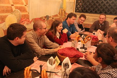 Dinner with Yocto team members and families, Prague