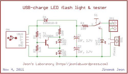 USB light n tester