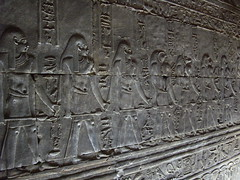 Edfu (Liv. -400) Tags: africa archaeology temple egypt chapel nile pharaoh crypt egitto hieroglyphs cripta cappella edfu tempio nilo egyptians archeologia faraoni geroglifici egizi