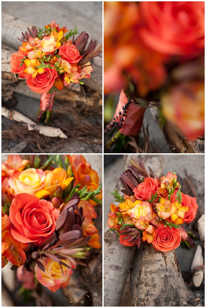 buchet mireasa - bridal bouquet ( autumn )