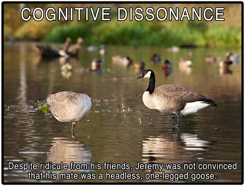 Cognitive Dissonance by Mark Klotz, on Flickr