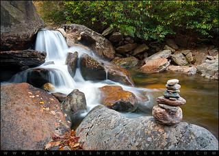 WNC Waterfall Landscape Photography - Harmony