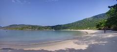 Panorama of Praia do Forno (Frans Harren) Tags: sea brazil panorama mountain beach water brasil riodejaneiro canon rj bra hills hdr canonpowershotg1 arraialdocabo powershotg1 ptgui 3exp exposurefusion