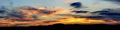 Sunset Sky (scorpio.bird) Tags: sunset panorama nikon d90