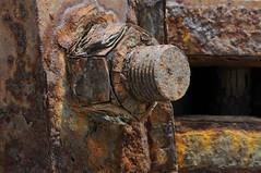 Corrosion (tickle toes) Tags: rust rusty bolt nut corrosion nutbolt nutandbolt