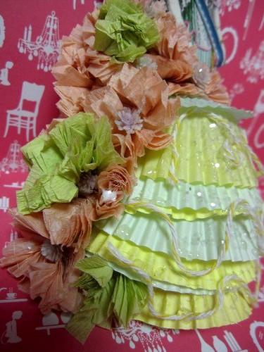 Cupcake Liner Doll, Fashion! 2