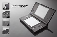 Nintendo DSi (michellejarni) Tags: macro canon reflections technology buttons nintendo 64 videogame product dsi scrim 5dmkii
