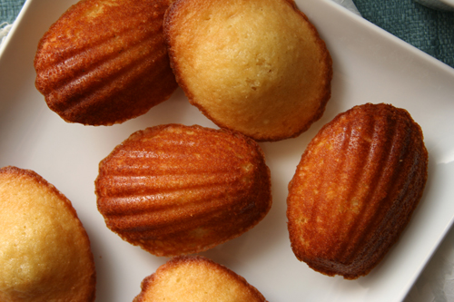 brown sugar honey madeleines 5