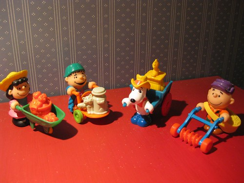 Peanuts Happy Meal Toys