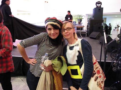 Me and kathleen Hanna!!!