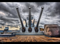 "16 inch Guns of the ""Black Dragon"" (Theaterwiz) Tags: newjersey memorial ship mark camden 7 historic artillery battleship ussnewjersey veteran turret warship topaz criswell promote 1650 photomatix bigj blackdragon gorillapod canon1022efs canon7d admiralhalsey 11exposures topazadjust promoteremotecontrol michaelcriswell 1650mark7"