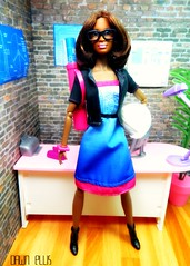 The Architect (Dawn Ellis) Tags: doll arch barbie diorama blackdoll blackbarbie blackdolls aabarbie barbieplayset dolldiorama soinstyle soinstylekara barbieicanbeanarchetect