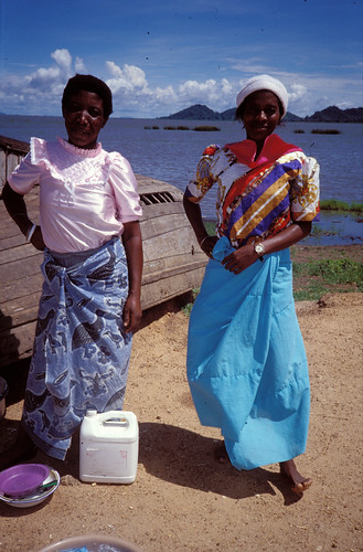 Woman fish seller, Malawi. Photo by Randall Brummett, 2002