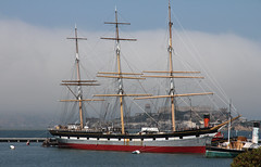 San Francisco Bay (TomLiaPhotography) Tags: sanfrancisco sea bay coast sailing ship alcatraz