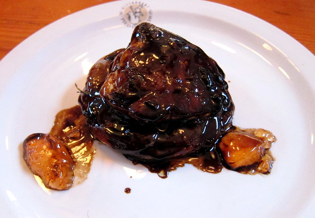 Foie Gras with Caramelized Apples