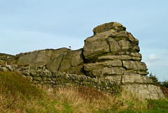 The Great Rock, Staups Moor, Todmorden by Tim Green aka atoach