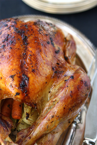 Roasted-Turkey-with-Herb-Butter-&-Roasted-Shallots-Recipe-Cookin-Canuck