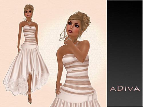 aDiva couture Liriel Cream