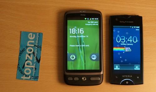 Sony Ericsson Xperia Ray   kompaktiškas Android?