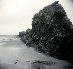 Breiafjrur / Beach Life (Spitting Doc) Tags: iceland holga mt1 mt3 se6 recordrapid rpx400 catechol rpxd
