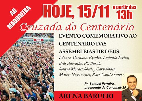 CRUZADA DO CENTENÁRIO by igreja.adbras