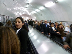 Escalator Chat Room (oxfordian.world) Tags: uk greatbritain england people london underground escalator londontube crowded rolltreppe chatroom 1366 oxfordian oxfordianworld oxfordiankissuth 3662012thegreatleapforward