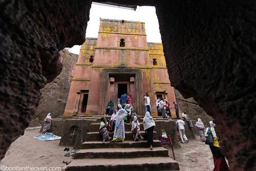 Pilgrims at Bet Giyorgis