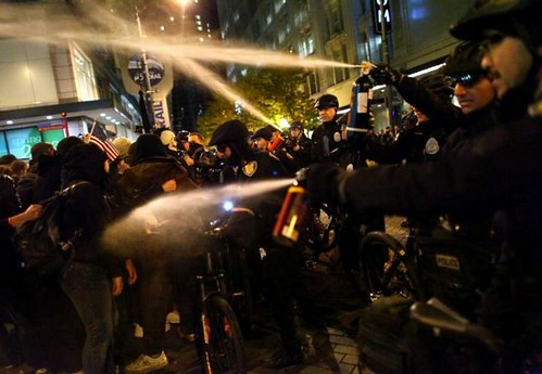 Seattle police pepperspray
