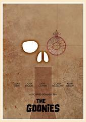 The Goonies (1985) (Jon Glanville) Tags: andy mouth treasure pirates mikey adventure 80s sloth chunk brand coreyfeldman seanastin thegoonies truffleshuffle jeffcohen richarddonner heyyouguys joshbrolin kerrigreen minimalistfilmposter